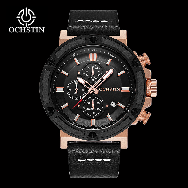 OCHSTIN Original Watch Men Sport Quartz Men Watches Chronograph Wrist Watch Relogio Time Hour Clock Reloj Hombre Mens Watches splendid brand new boys girls students time clock electronic digital lcd wrist sport watch