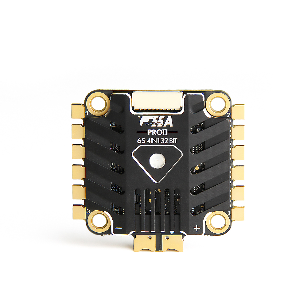 T MOTOR F55A PRO II 4IN1 32bits ESC with LED for DIY racing Drone Traversing FPV RC 5V@ 2A - 3