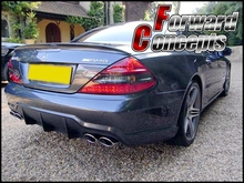 цена на CARBON FIBER MERCEDES BENZ 2004-2011 R230 SL-CLASS REAR WING TRUNK SPOILER
