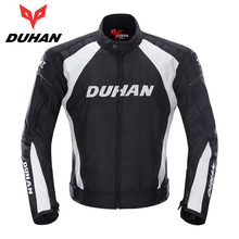 DUHAN Motorcycle Jacket Summer Men's Motocycle Touring Jacket Waterproof Racing Sports Moto Jacket with Motorcycle Protector