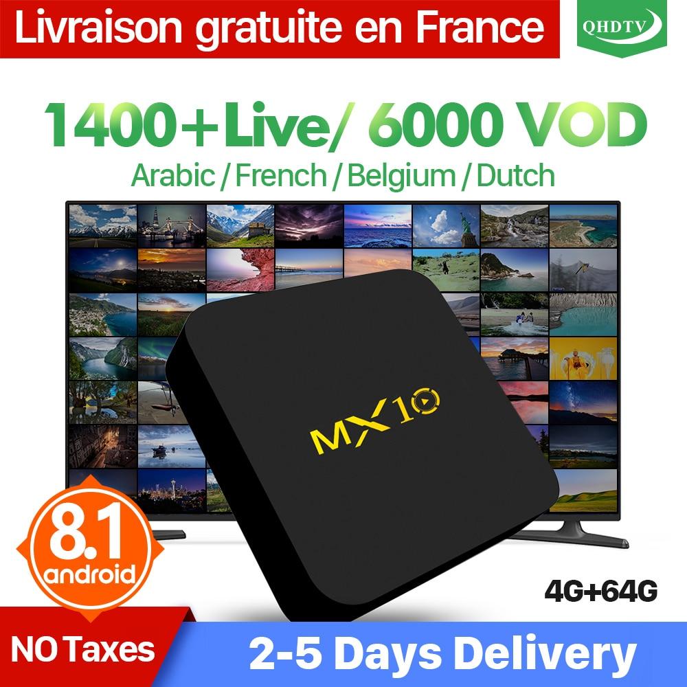 T95N Android 6.0 Smart TV Box 1100 1Aasta tasuta Iptv Tellimus - Kodu audio ja video - Foto 2