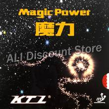 KTL Magic Power Half Long Pips Out Table Tennis Rubber with Sponge(China)