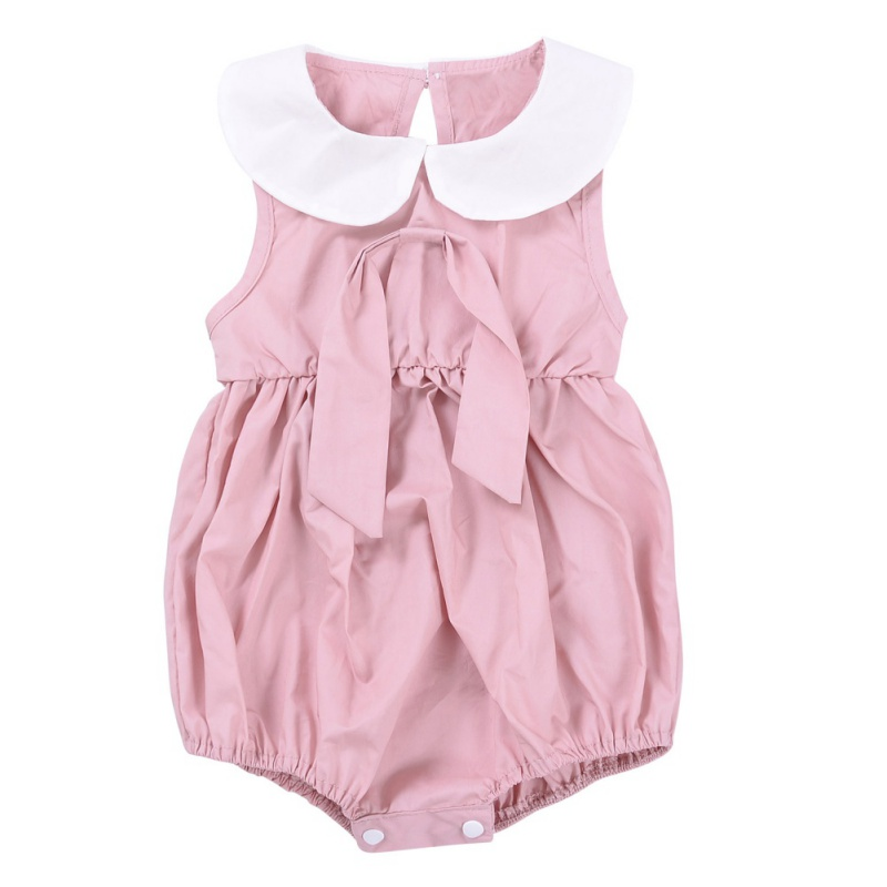 2018 New Arrived Baby Girl Overalls Summer Newborn Clothes Cute Infant Sleeveless Bodysuits M2 ...