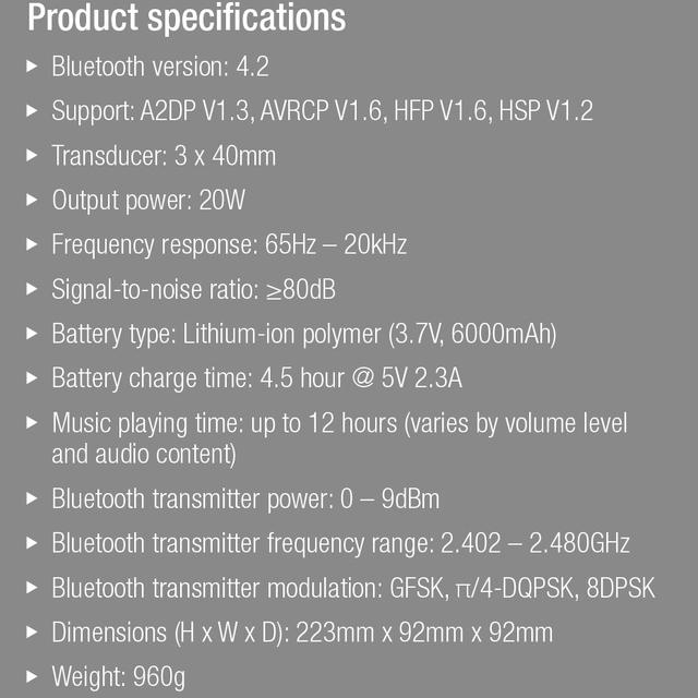 JBL Pulse3 Bluetooth Speaker IPX7 Waterproof Audio Subwoofer Stereo Speakerphone Wireless Link 100 JBL Connect+ Enabled Speakers