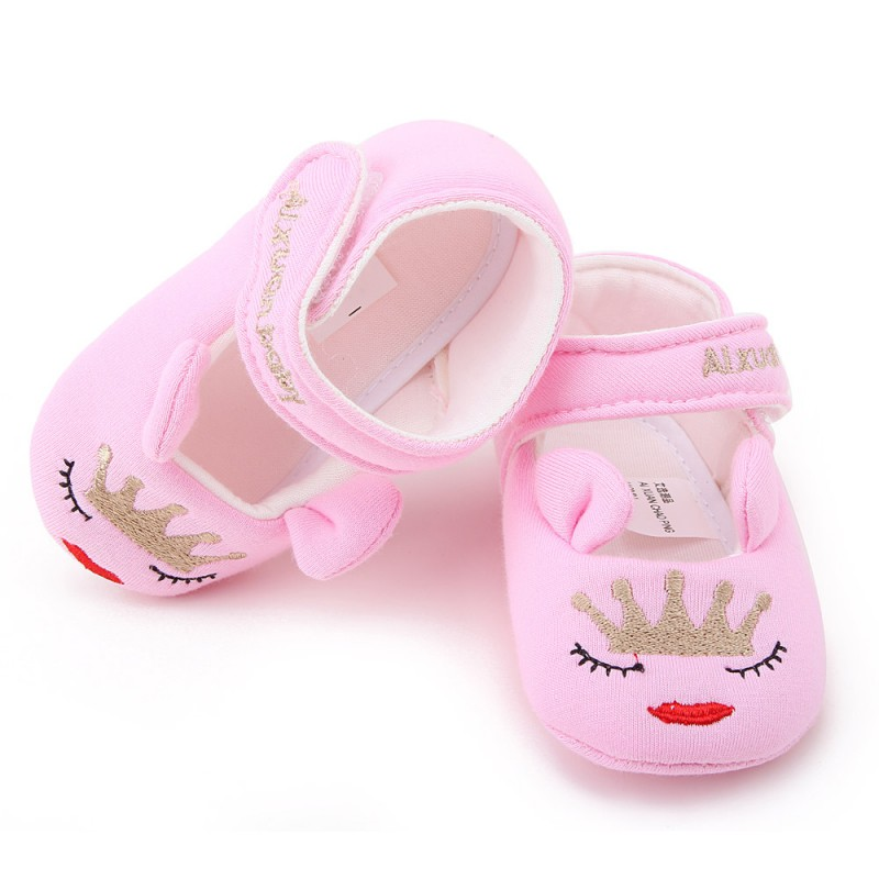 2017 Summer Toddler Infant Newborn Baby Shoes First Walkers 2017 New Boy Girls Cotton Soft Sole Cute Crib Shoes 0-18M