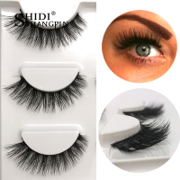 Wholesale 150pairs False Eyelashes Makeup 3D Mink Lashes Eyelash Extension Cross Mink Eyelashes Faux Cils Maquiagem Cilios