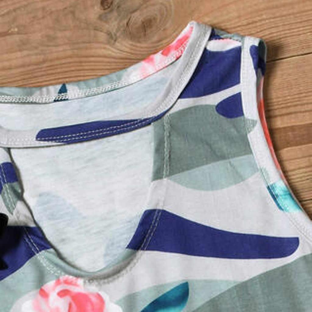 נשים בתוספת גודל גופיות נשים חולצה ללא שרוולים חולצה סיבתי Loose V-צוואר שרוולים הדפסת טנק חולצה חולצה חולצות #516