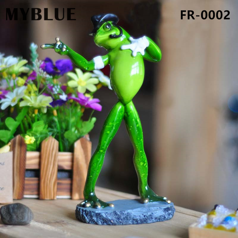 Myblue kawaii artificial michael jackson dancing frogs for Gifts for home decor