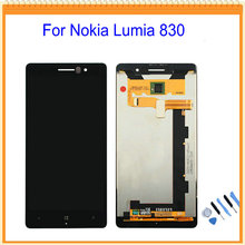 For Nokia Lumia 830 LCD Display with Touch Screen Digitizer Assembly Black + Tools Free Shipping