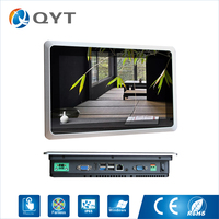 2019 NEW IP65 embedded industrial fanless 10 inch touch screen all in one panel pc windows/Linux