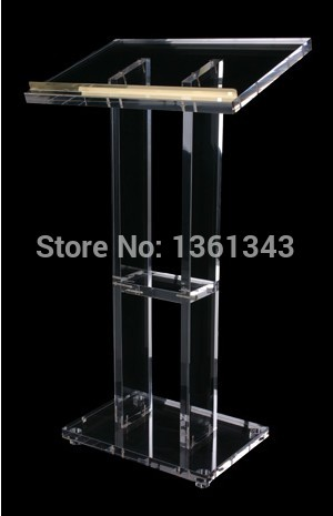 Clear Acrylic   Podium/Simple Transparent Acrylic Lectern Podium/.acrylic Podium Pulpit Lectern.acrylic Podium Plexiglass