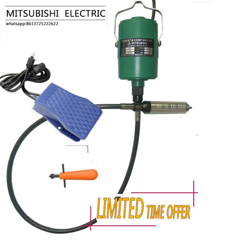 Mitsubishi Flexible flexshaft jewelry hanging carving drilling engraving machine gold silver metal wood rotary polishing motor 4mm metal handle pen grip for engraving machine flexible shaft tube for hanging mill rotary power tools accessories wood carving