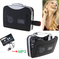 Original Genuine Ezcap Audio Capture Walkman MP3 Music Player, Old Cassette Tape to MP3 Converter to USB U Flash Drive U Disk