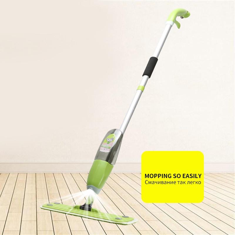 Magic Spray Mop Microfiber Cloth Floor Windows Clean Mop: MAGIC UNION Spray Mop Microfiber Floor Mop Wooden Floor