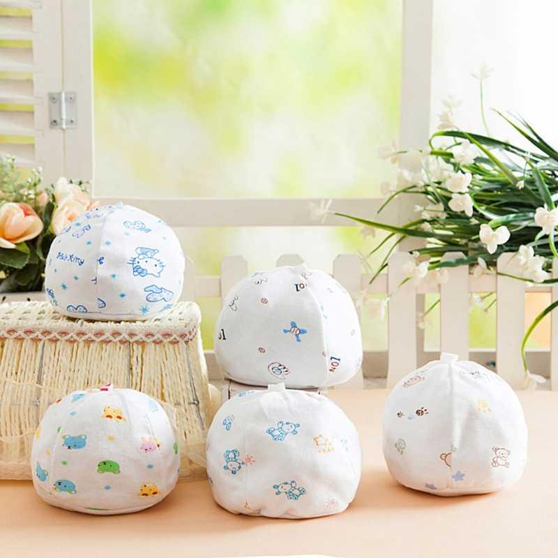 Baby Hats Cute Warm Soft Blend Cotton Cartoon Newborn Infant Toddler Unisex Caps