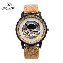 One Piece Anime Skeleton Dial Wrist Watch