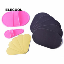 ELECOOL 12Pcs Arm Face Upper Lip Hair Remover pads Smooth Le