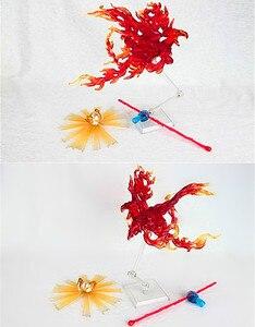Image 3 - Frete grátis lt modelo saint seiya pano mito luta habilidades efeitos para virgo shaka phoenix ikki