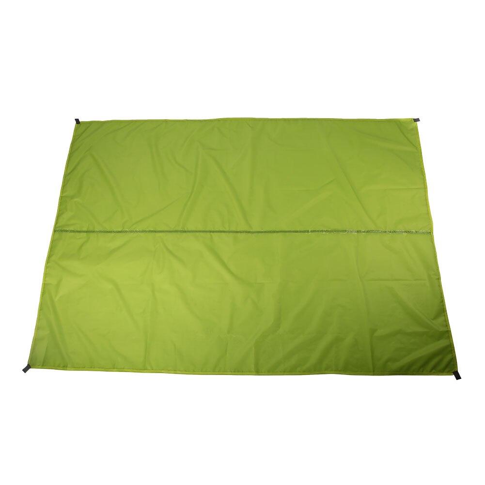 3 цвета 190TPU2000 лагерь на открытом воздухе скатерть для пикника брезент прочный водонепроницаемый кемпинг ткань практичная влагостойкая путешествия - Цвет: green