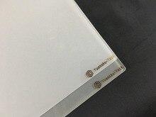 Placa de construcción de impresora 3d Raise3D pro2, vidrio de borosilicato esmerilado, mejor adherencia, 340x332x3 MM