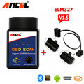 2017 Newest Universal ELM327 Bluetooth Scanner Obd2 ii v 1.5 Car Scanner obd2 Adapter For Android Code Reader Free Shipping