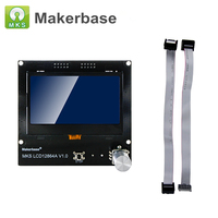 Top Quality 3D Printer Smart Controller LCD 12864 Display 12864LCD Panel Support RAMPS for MKS Gen L