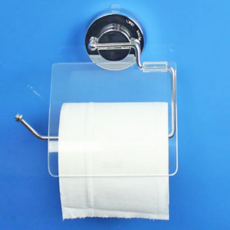 Sucker Toiletpapirholdere Toiletpapirholder Fleksibel Med Cover Til - Husholdningsvarer - Foto 2