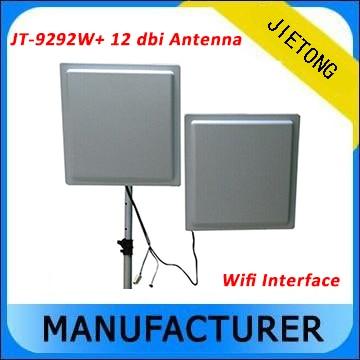 Iso 18000 6C RFID Card Reader, 25 м Долгосрочный пассивный uhf rfid считыватель, wi Fi/RS232 Интерфейс RFID считыватель + 12dbi Телевизионные антенны