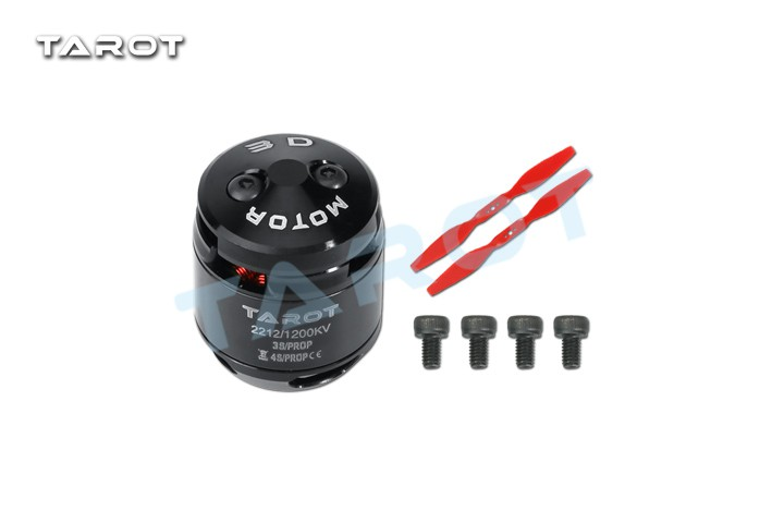 Tarot TL400H9 2212 <font><b>1200KV</b></font> Brushless Motor with Prop for Multirotor Quadcopter FPV Drone image