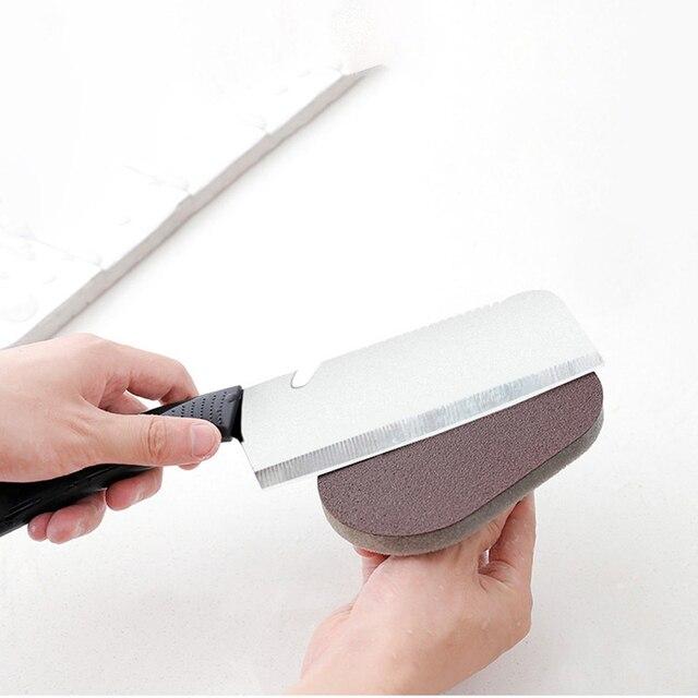 Magic Kitchen Sponge Brush Melamine Sponge Cleaning Brush Descaling Knife Pan Pot Cleaner Strong Decontamination Brushes