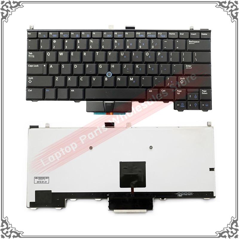 Original US Keyboard For Dell Latitude E4310 E4200 PP13S Laptop US Keyboard With Backlit Backlight
