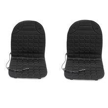 12V calientan funda de cojín de asiento de coche de invierno cojín para hogar cojín de asiento con calefacción calentador asiento