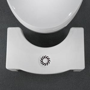 Image 5 - 折りたたみ子供のためフットスツール抗便秘浴室プラスチックしゃがんスツールトイレ