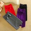 Mujeres 2017 Del Resorte Del Algodón Sólido Lápiz Faldas de Cintura Alta de criss-cross arco Ropa de Trabajo y el Partido Faldas Saia Faldas Mujer Moda Jupe