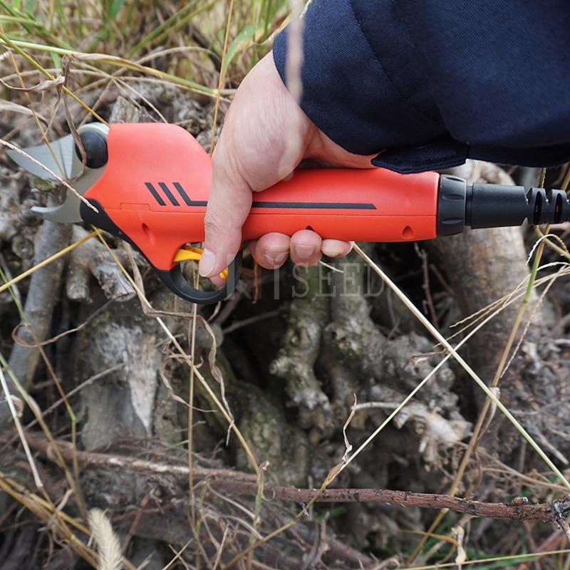Le migliori forbici per alberi a batteria al litio (certificato CE - Attrezzi da giardinaggio - Fotografia 2