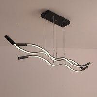 Moderno pingente de luz led para cozinha barra 110 v 220 v luminária suspendor avize lustre moderno pingente lâmpada para escritório café lojas|Luzes de pendentes| |  -