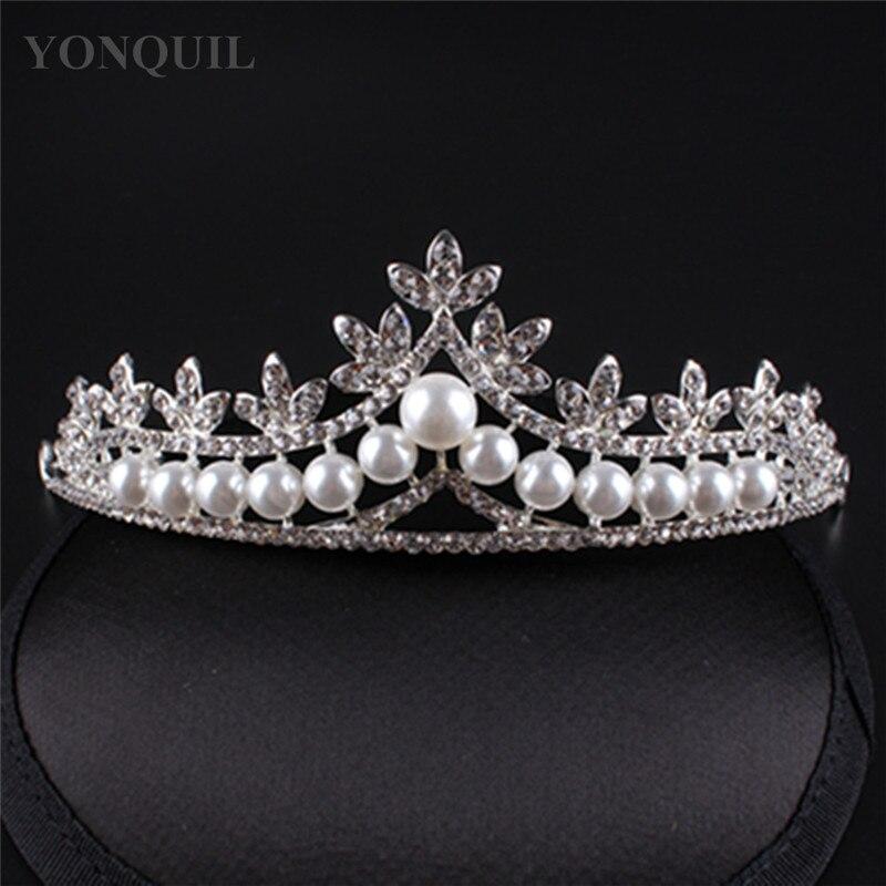 ecc5278c0b √Darmowa wysyłka Bridal Suknia ślubna Shining Dżetów Korona Tiara ...