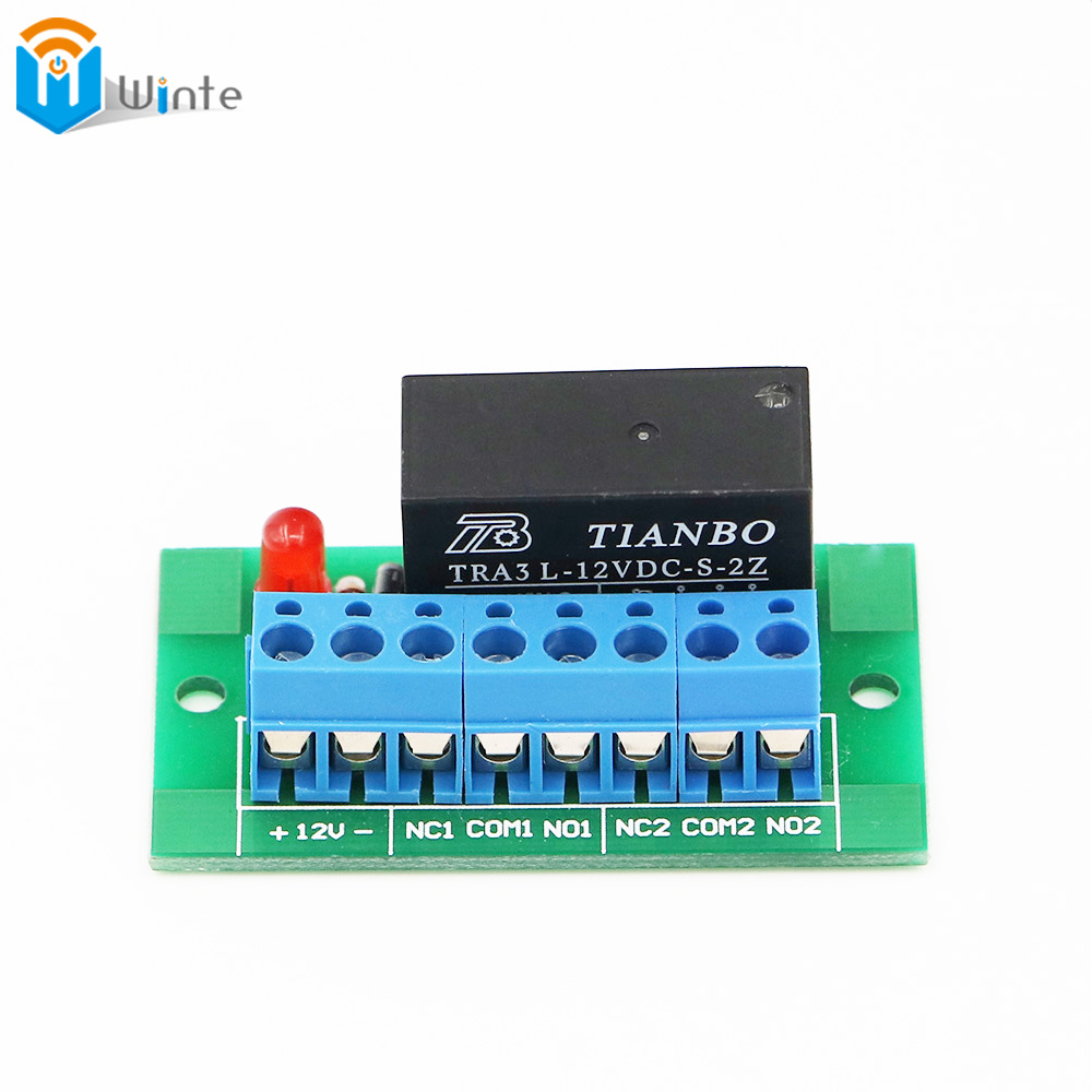 цена на Double Way Relay For RFID Access control system Single channel Relay High quality install on Entry system Electromagnetic Relay