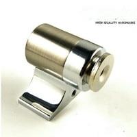 Modern Silver Color Luxury Zinc Alloy Door Stopper Classical Door Stops Strong Magnetism Plastic Uptake Free