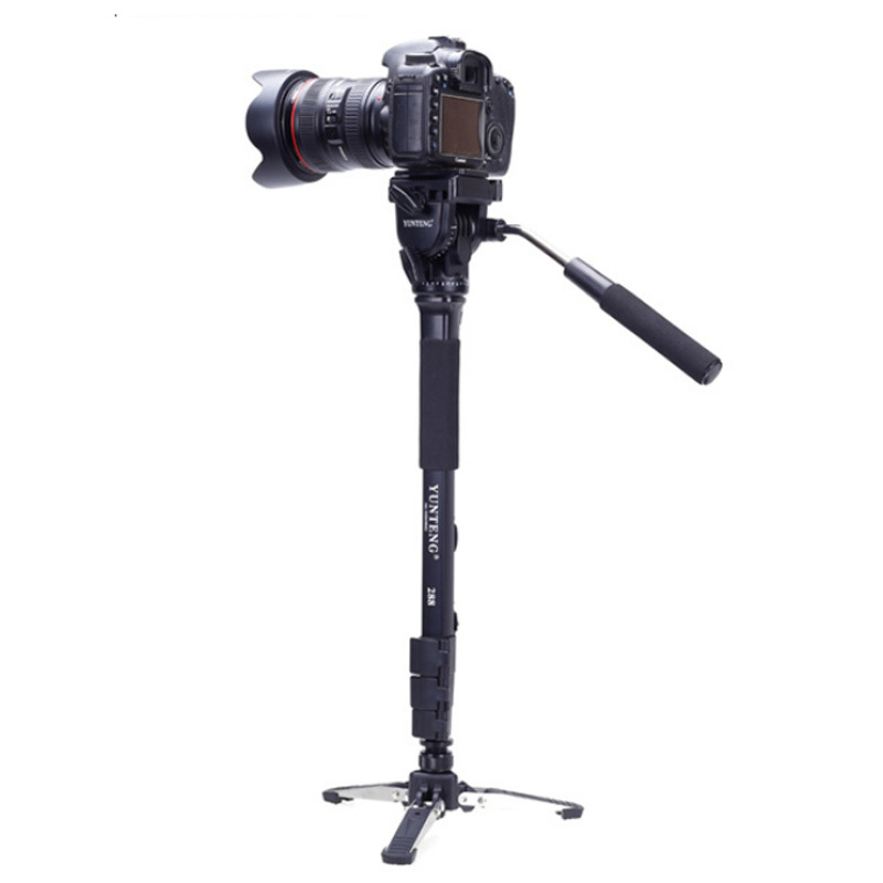 Image 2 - Yunteng 288 Camera Monopod Tripod   Fluid Pan Head Ballhead   