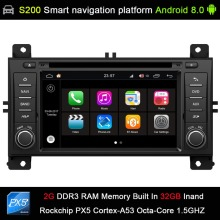 Android 8.0 system PX5 Octa 8-Core CPU 2G Ram 32GB Rom Car DVD Radio GPS for JEEP GRAND CHEROKEE 2011-2013