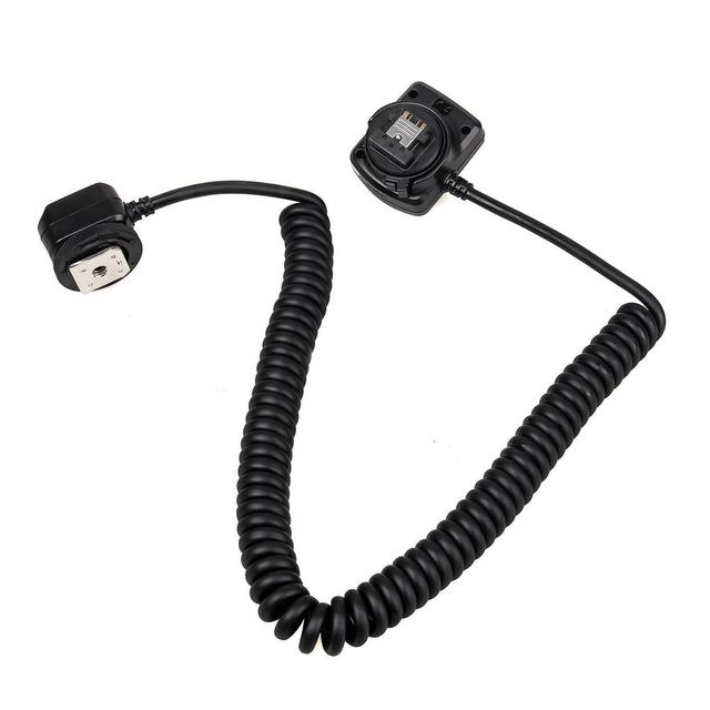 Meike MK FA02 3M 10Ft 118 Inches TTL Off Camera MI Multi Interface Hot Shoe Flash Sync Cable Cord For Sony A9 A7M3 A7R3 A7M2 A7R
