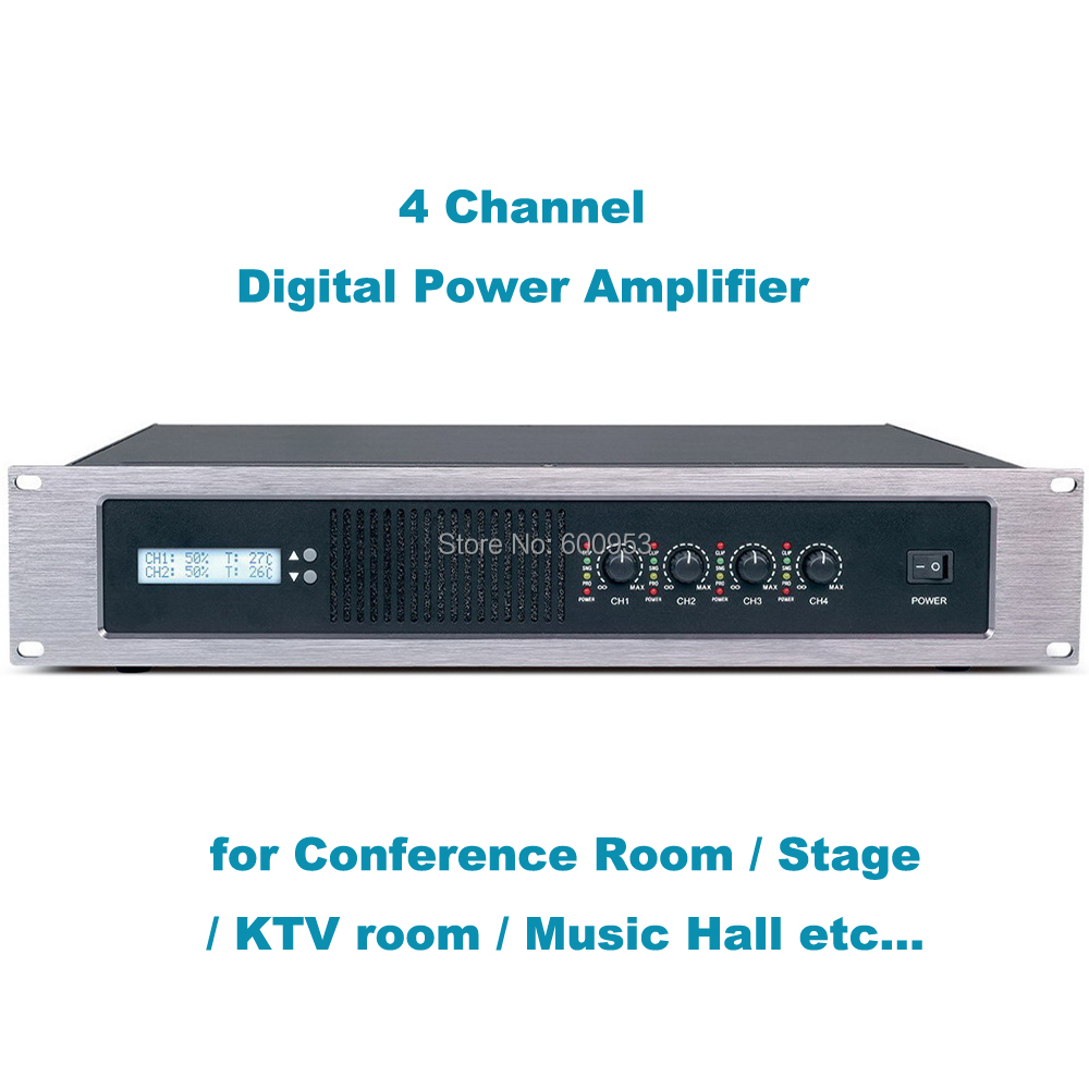 4 channel 5000 watts professional digital high power amplifier amp stereo micwl gb1504 in. Black Bedroom Furniture Sets. Home Design Ideas