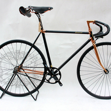 Bicicleta de carretera Vintage piñón fijo bicicletas 700C bicicleta de marcha única 700C bicicleta Vintage