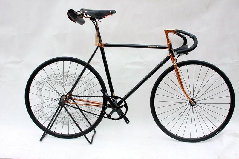 Vintage Vélo De route vélo Vélos à Pignon Fixe 700C vélo à Une Seule vitesse 700C Bicyclette Vintage