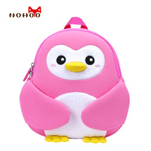 Children #8217 s School Bags Cute Animal Pattern Backpacks Toddlers Girls Boys Little Kids Small School Backpacks for 2-4 Years Old cheap NOHOO Neoprene zipper NH044 NH045 NH065 NH066 cartoon 21cm 11cm 25 5cm 0 3kg unisex Waterproof Kids Baby Bags Girls Cartoon School Bags
