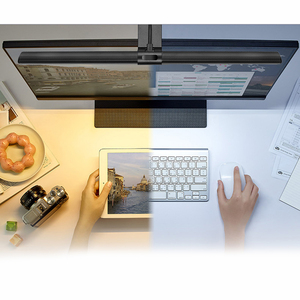 Image 2 - 1 Pc 5V Usb Led Dimbare Tafellamp Monitor Laptop Screen Zachte Verlichting Lichtbalk Oogbescherming Lezen Dimmer clip On Desk Lampen