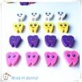 100 unids/bolsa Gomas de borrar Con Forma de Diente Molar Dentista Dental Clinic Regalo