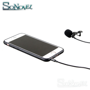 Image 5 - YC LM10 Phone Audio Video Recording Lavalier Condenser Microphone for iPhone 8 7 6 5 4S 4 ipad Huawei Sumsang Xiaomi Type C