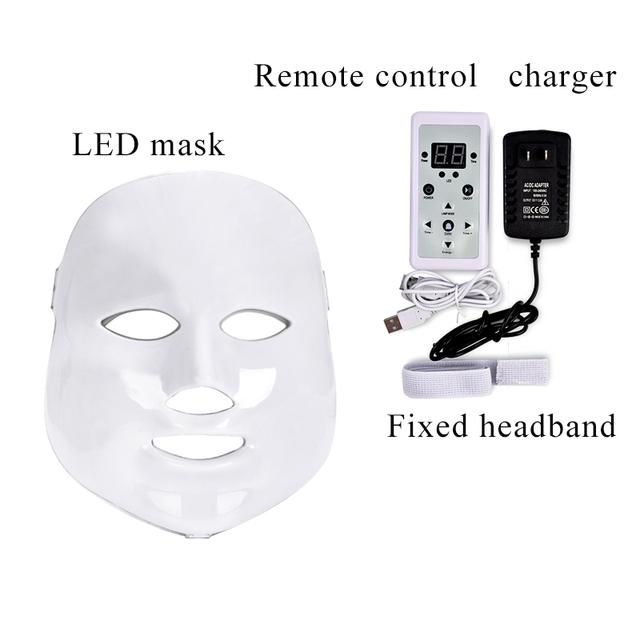 7 Colours Led Facial Mask